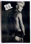 Billy Idol - 'Black and White' Postcard